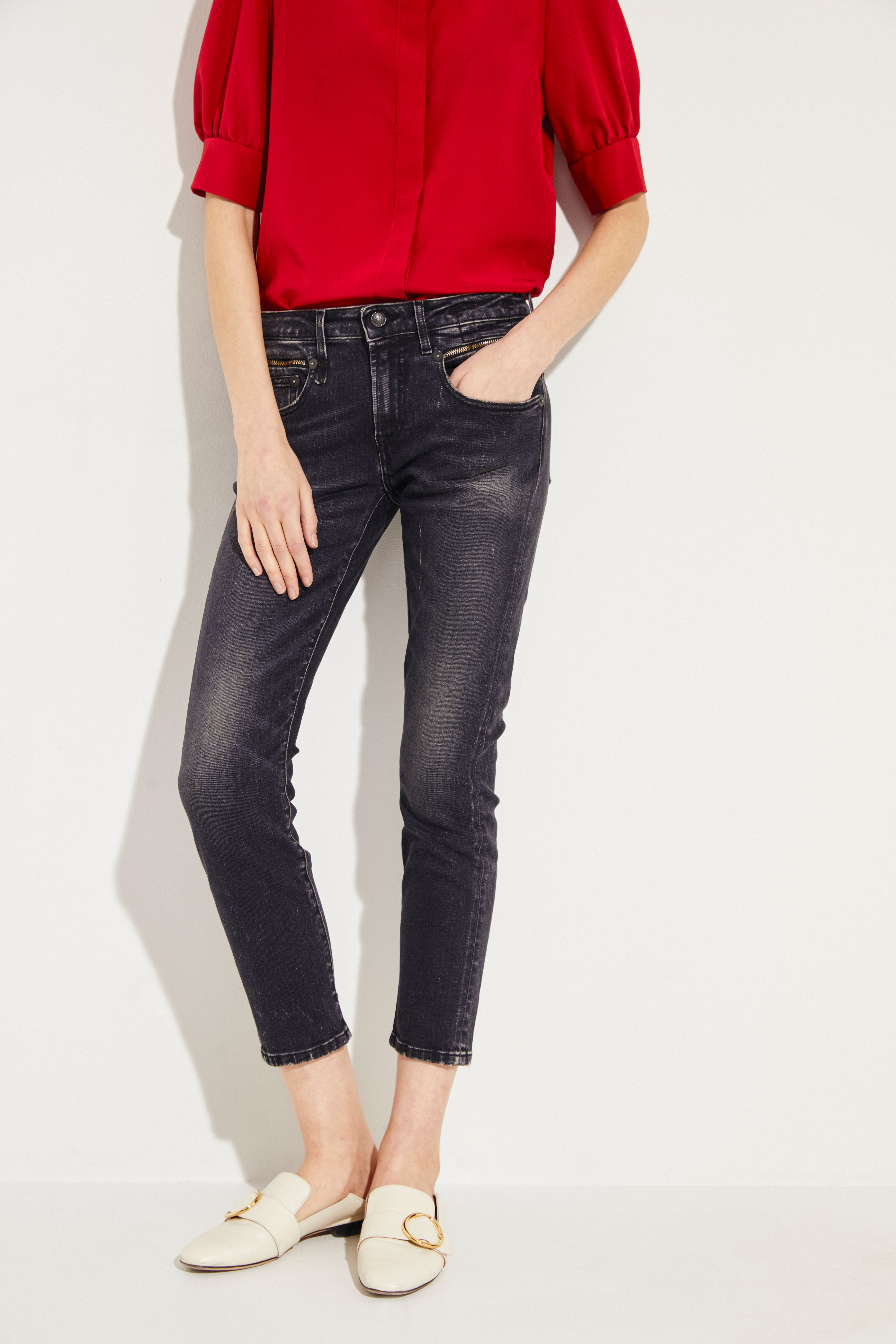 2495654ce1bf6 Jeans 'Biker Boy' Black | Straight Leg Jeans | Jeans | Clothing |  unger-fashion.com