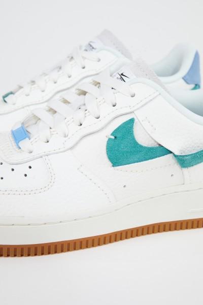 Nike Platform sneaker 'Air Force 1' White/Blue/Green