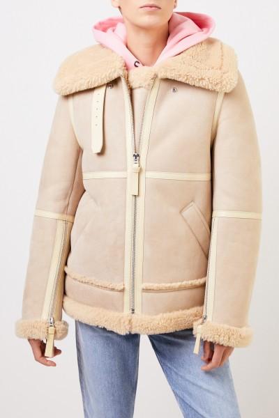 Acne Studios Lambskin jacket Sand/Wheat Beige