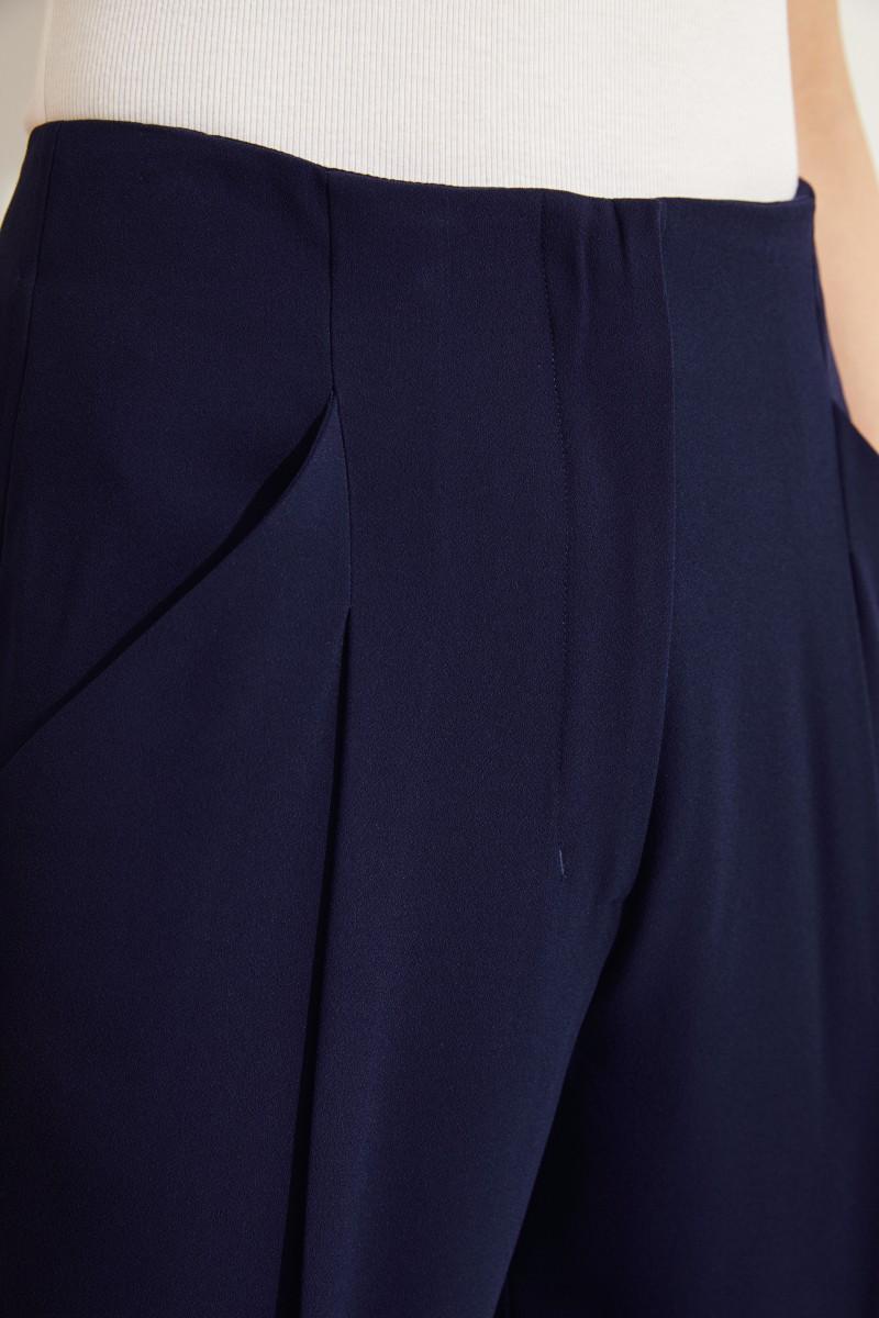 Fließende Hose Marineblau