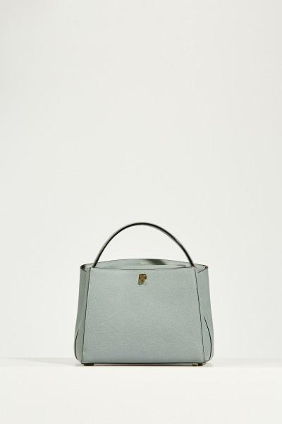 Leder-Tasche 'Brera Medium' Blau