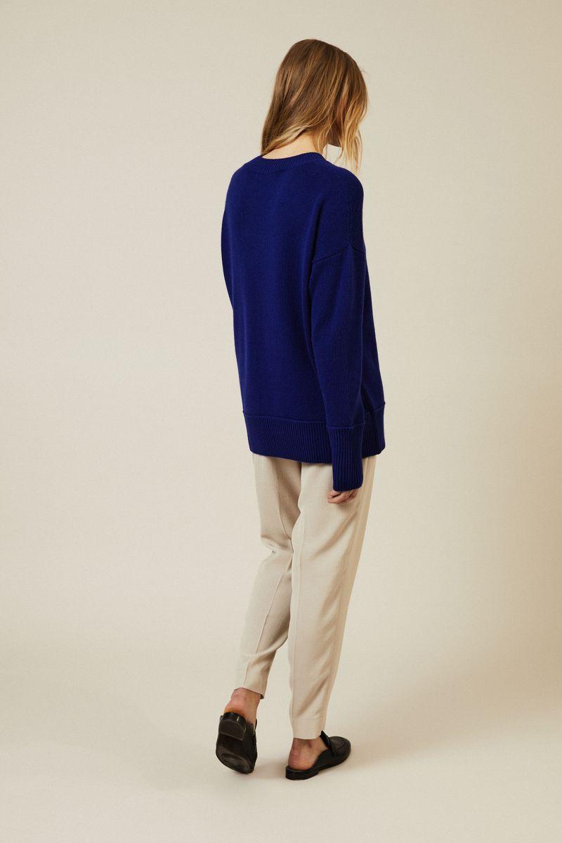 Cashmere Pullover 'Creta' Royalblau