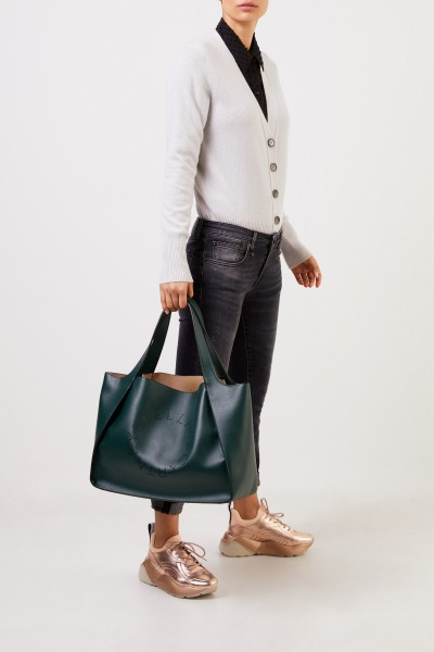 Stella McCartney Handbag 'Tote Stella Logo' Dark Green