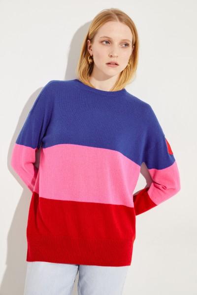 Cashmere-Pullover Multi