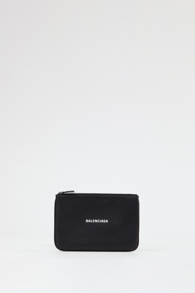 Balenciaga Clutch 'Pouch' Medium Schwarz