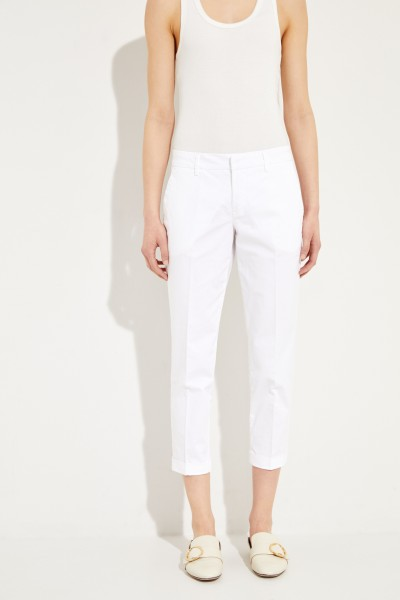 Baumwoll-Hose Weiß