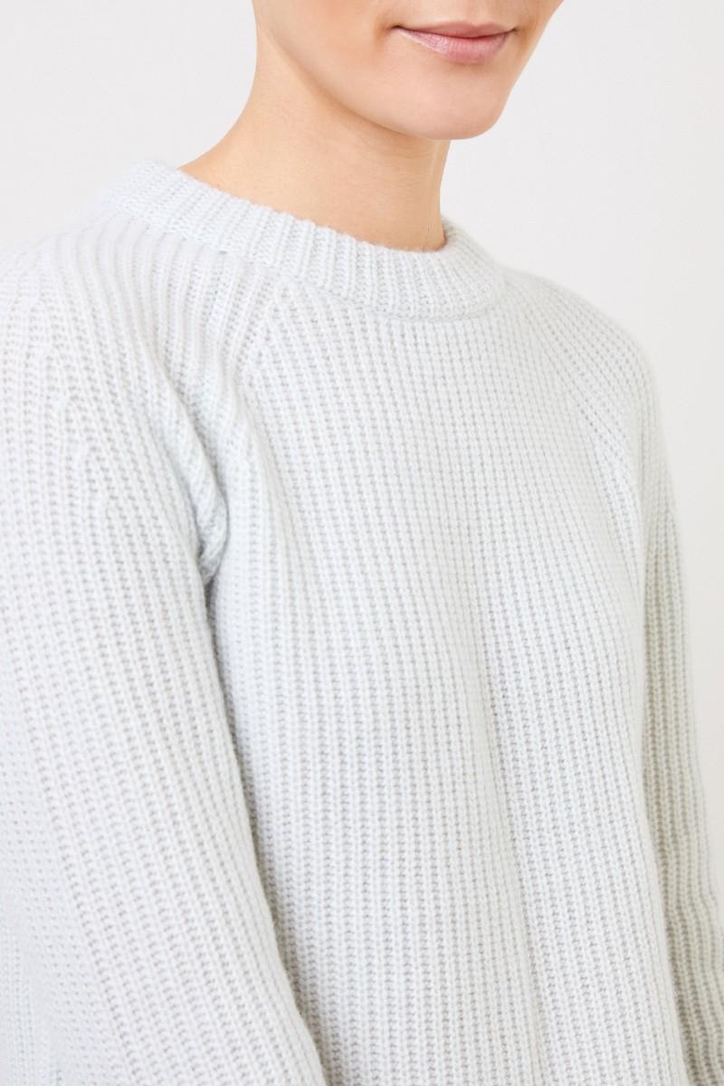 Vince Klassischer Cashmere-Pullover Mint