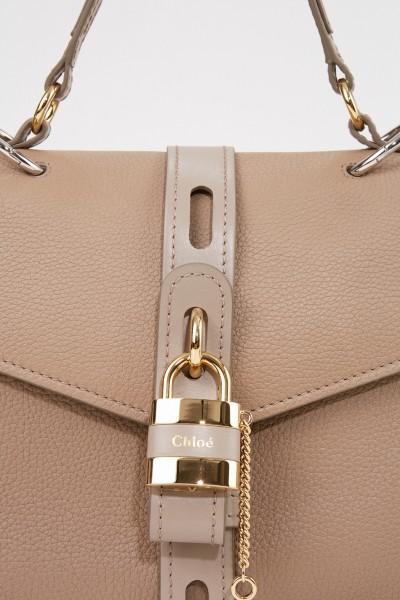 Chloé Tasche 'Aby Medium' Motty Grey