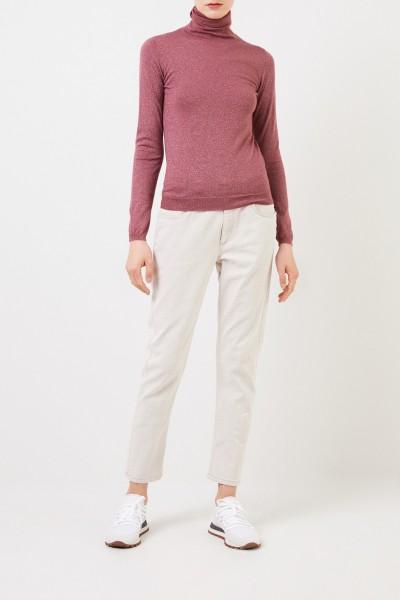 Klassische Jeans Hellgrau