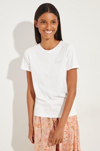 T-Shirt 'Wanda' Weiß