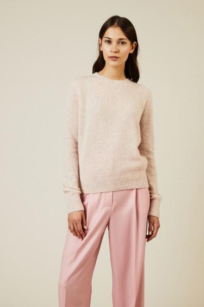 Cashmere-Seiden Pullover 'Minco' Rosé