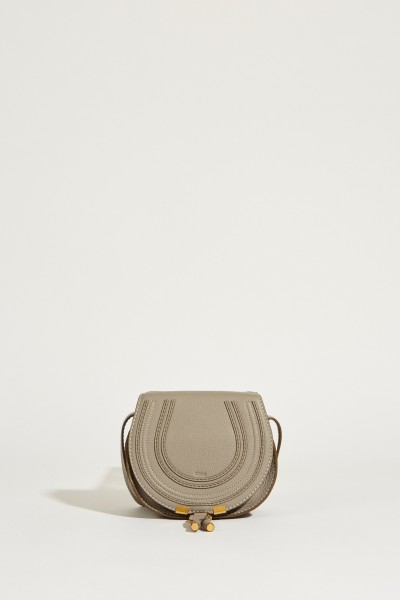 Umhängetasche 'Marcie Saddle Small' Cashmere Grey
