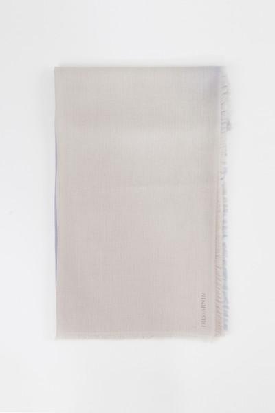 Iris von Arnim Cashmere-Tuch 'Heidi' Taupe/Multi