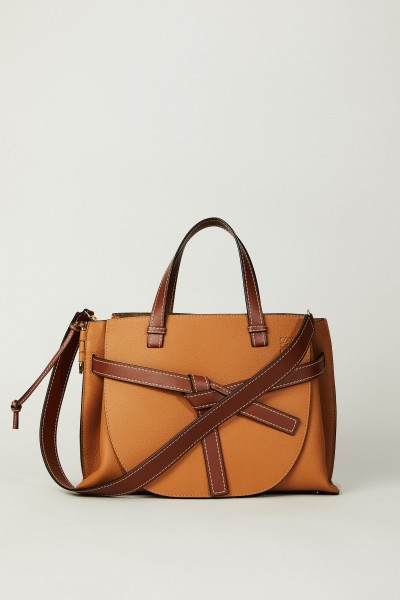 Shopper 'Gate Top Handle Bag' Cognac