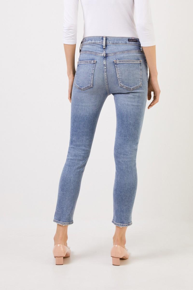 bester Großhändler neues Konzept attraktive Designs Highrise skinny jeans 'Rocket Rocket Croppped' Light Blue