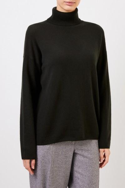 Iris von Arnim Cashmere sweater 'Cinja' with turtleneck Green