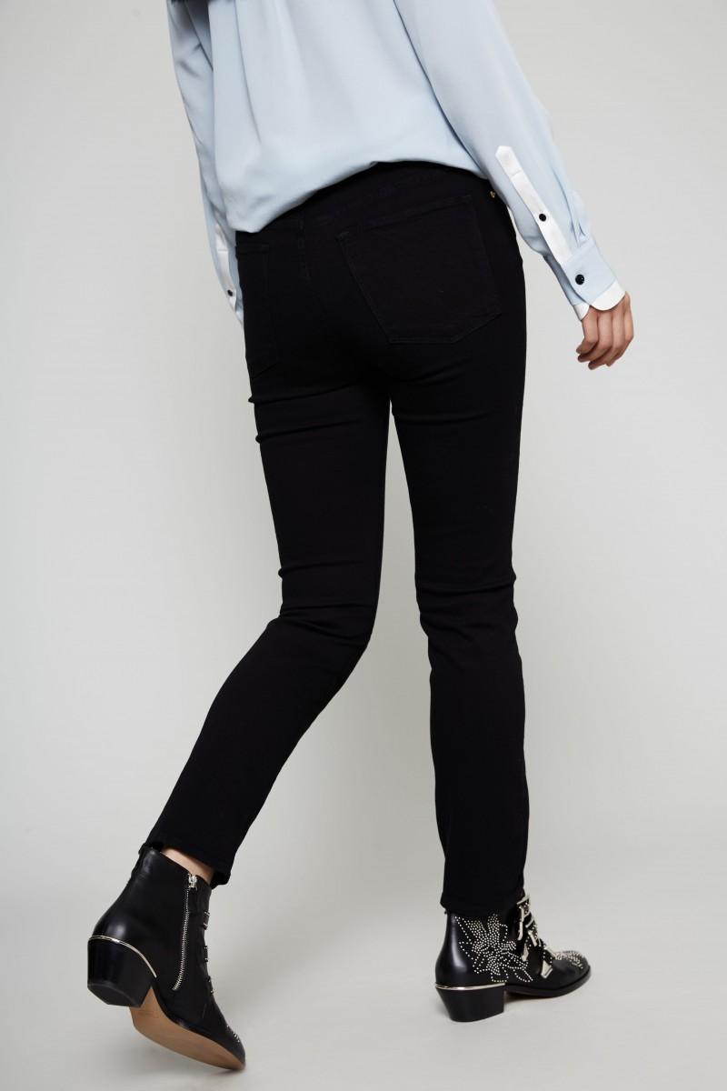 Skinny Jeans 'Le High Straight' Film Noir
