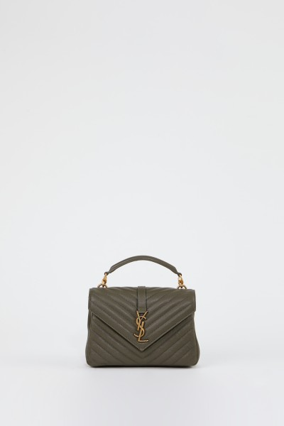 Saint Laurent Shoulder bag 'College M' Olive