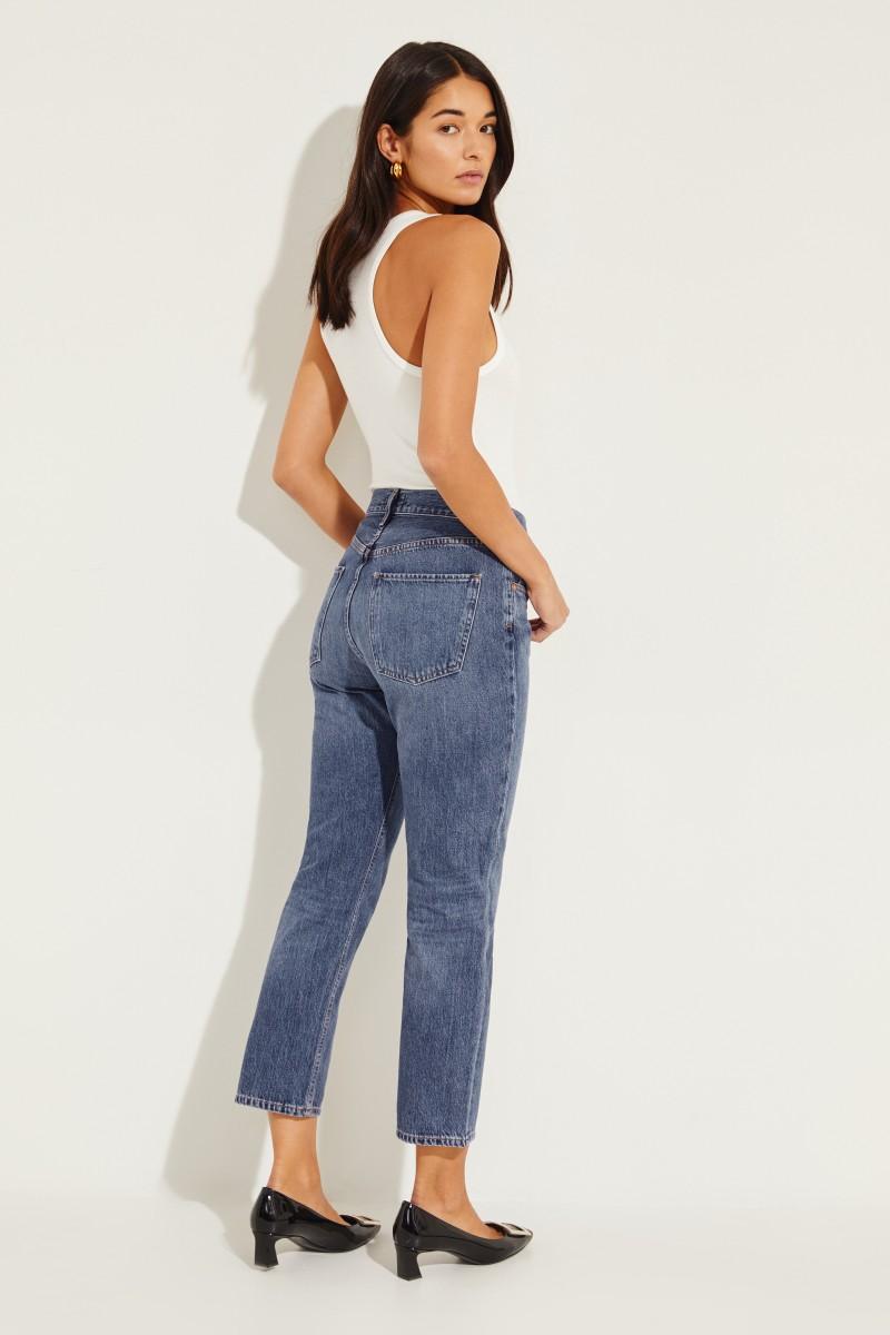 Jeans 'Cigarette' Blau