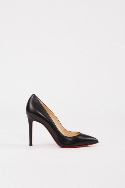 Leather Pump 'Pigalle 100' Black