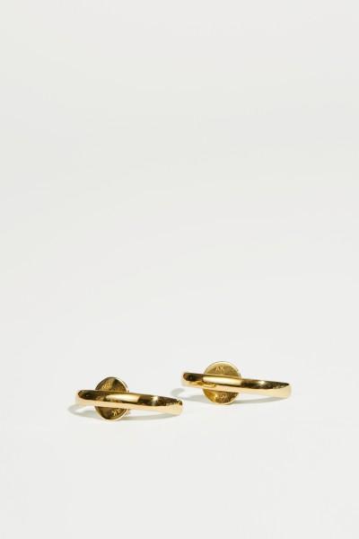 Ana Khouri Earrings 'Mirian' Gold