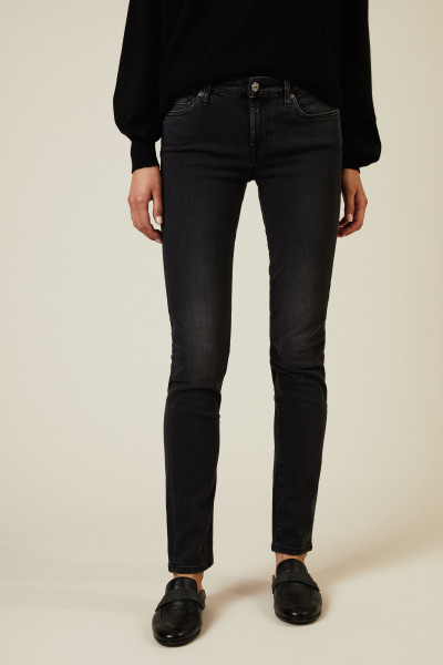 Jeans 'Pyper Slim Illusion Luxe Rebel' Anthrazit