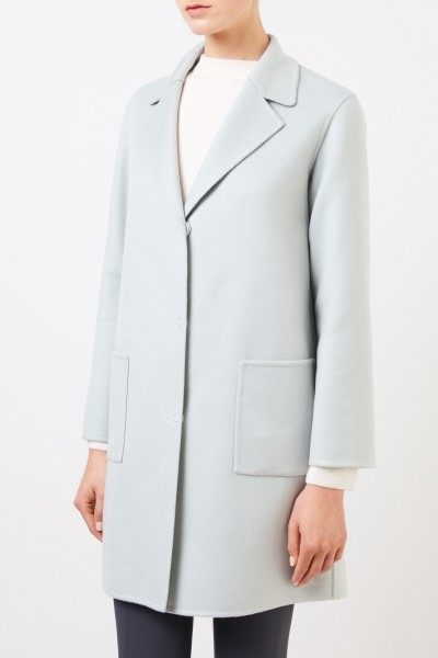Manzoni 24 Classic cashmere coat Light Mint