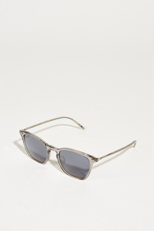 Oliver Peoples Sonnenbrille 'Heaton' Grau