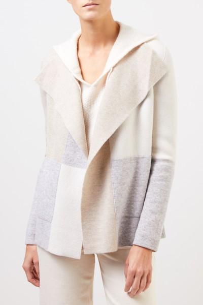 Iris von Arnim Doubleface cashmere jacket 'Rosaria' Multi