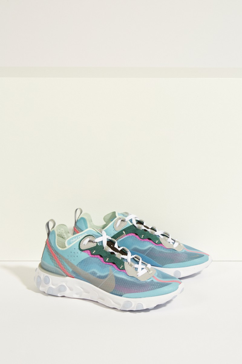 Sneaker 'React Element 87' Blau/Multi