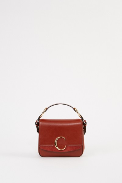 Chloé Tasche 'Chloé C Small' Sepia Brown