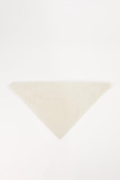 UNGER Lammfell-Bandana Pearl White
