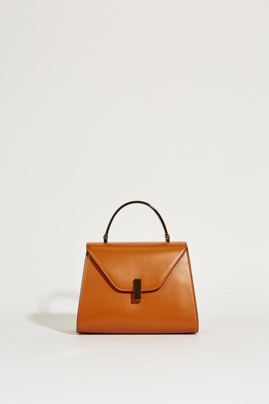 Leder-Tasche 'Iside Medium' Braun