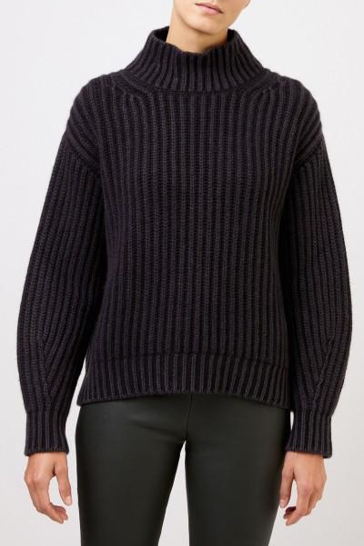 Iris von Arnim Cashmere-Sweater with turtleneck Black