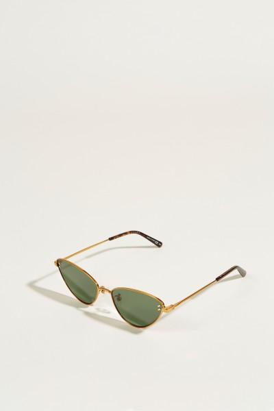 Sonnenbrille Gold/Grün
