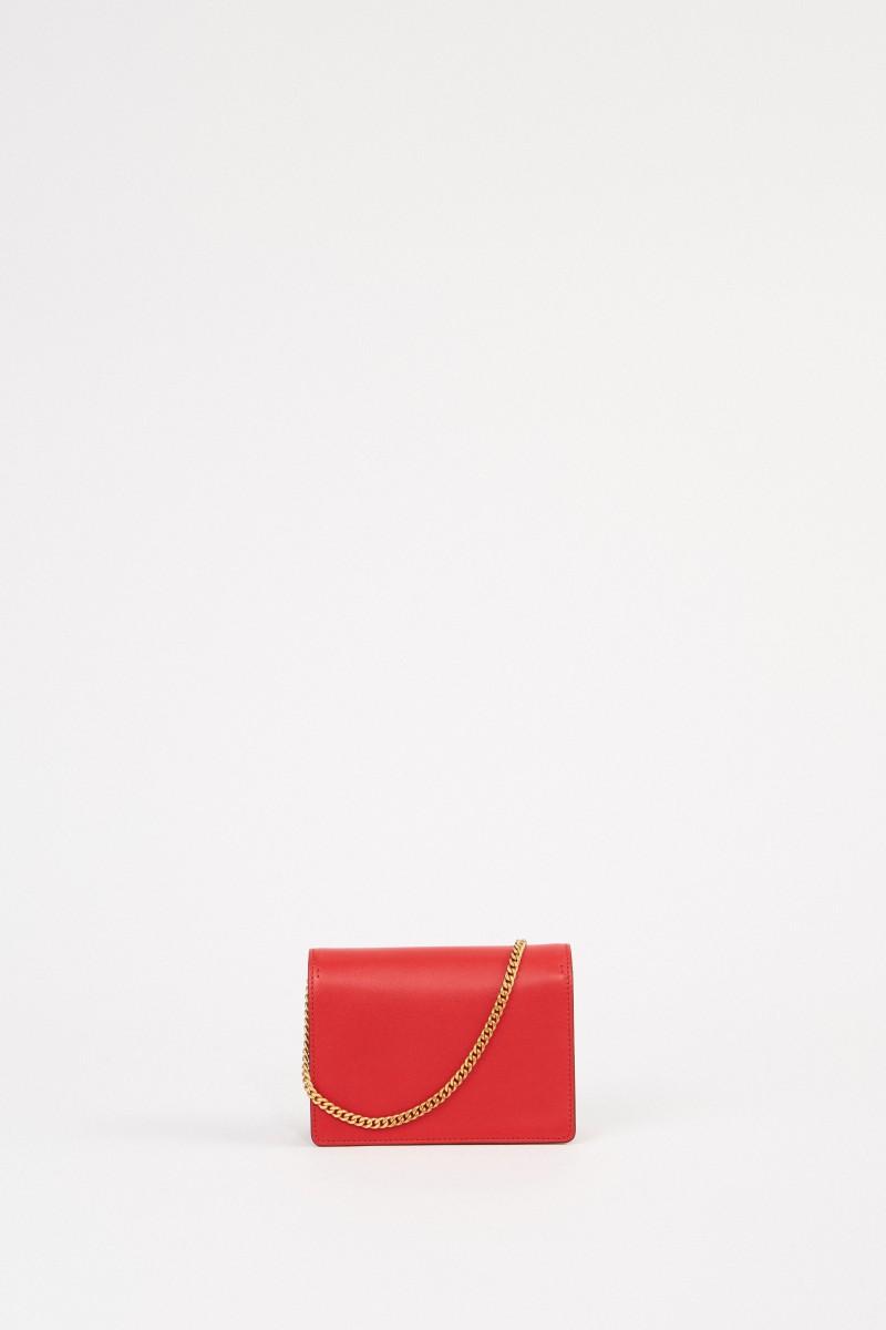 Valentino Pochette VRING with chain strap Rosé