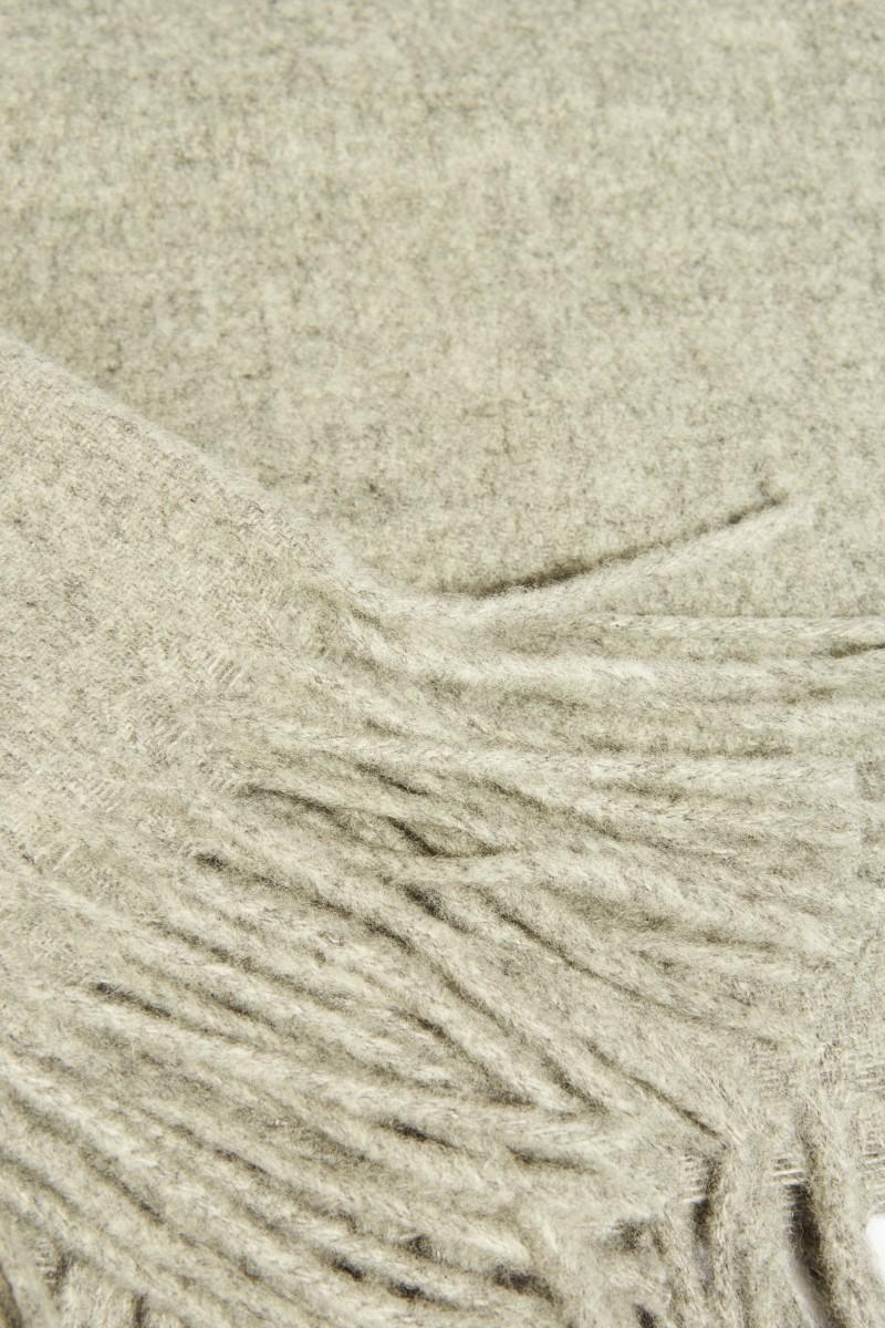 Klassischer Wollschal 'Canada New' Grau
