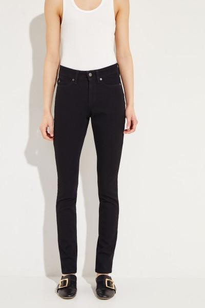 Skinny Jeans 'Parla' Schwarz