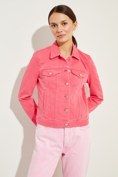 Jeansjacke 'Modern Trucker' Pink