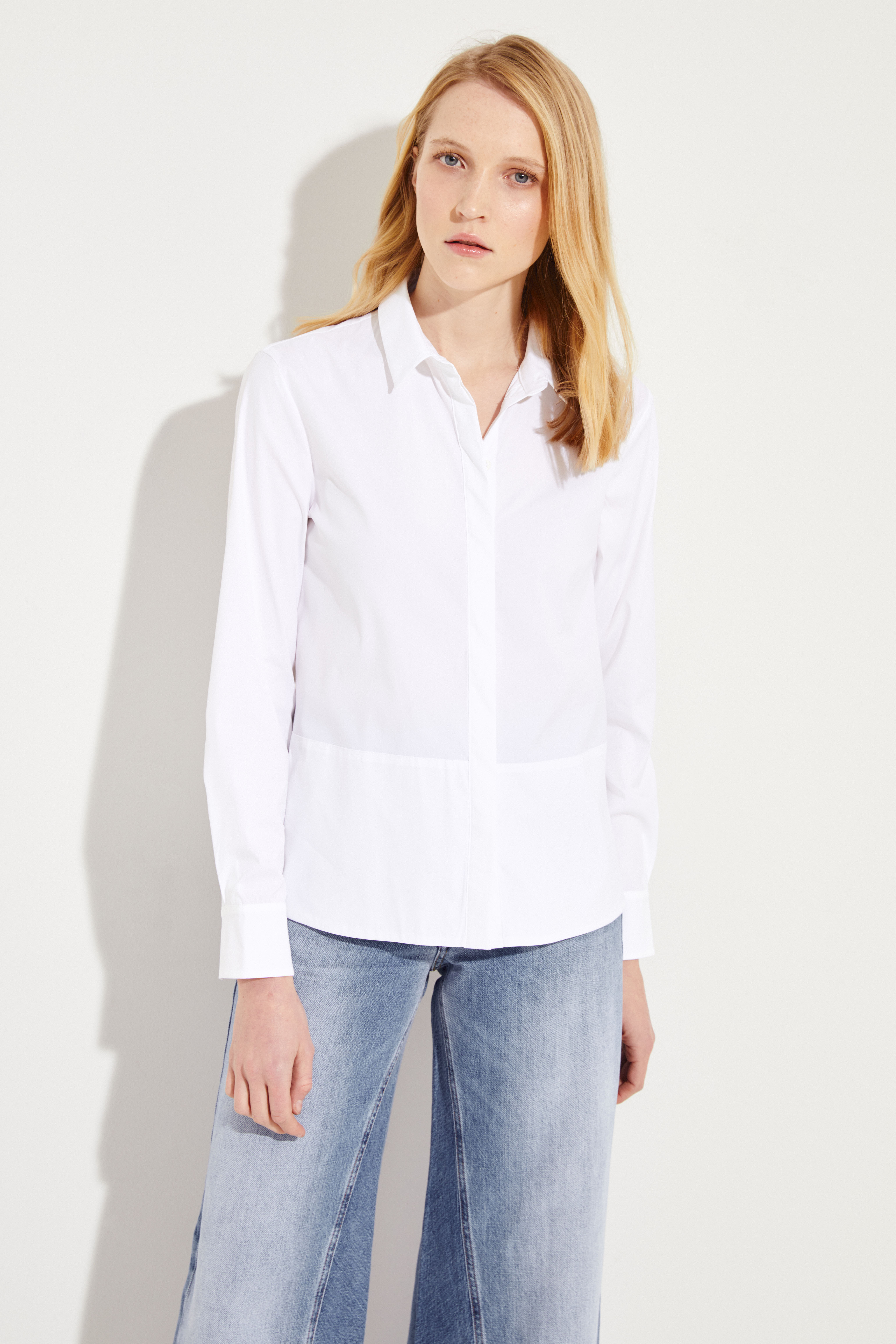 020f13efbf Classic Blouse White   Blouses and Shirts   Tops   Clothing    unger-fashion.com