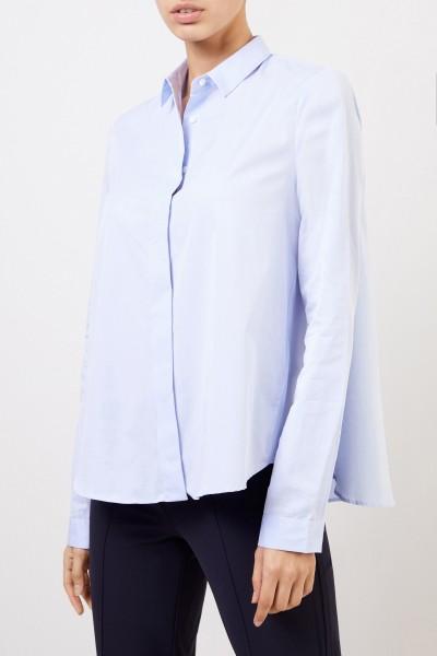 Artigiano Classic cotton blouse 'Teresa' Light blue
