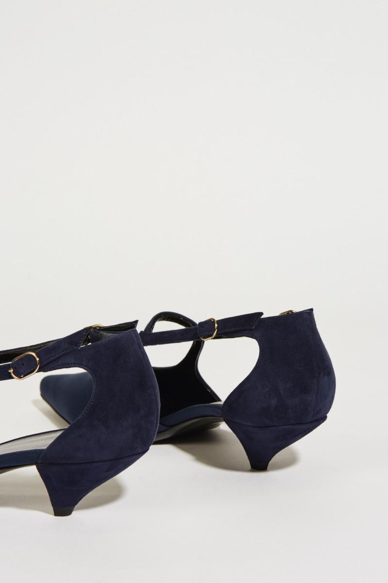 Pump 'Bourgeoise Salome' Blau