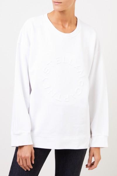 Stella McCartney Sweatshirt with logo writing White