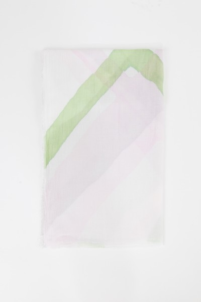 Iris von Arnim Tuch 'Tadala' mit Print Rosé/Multi