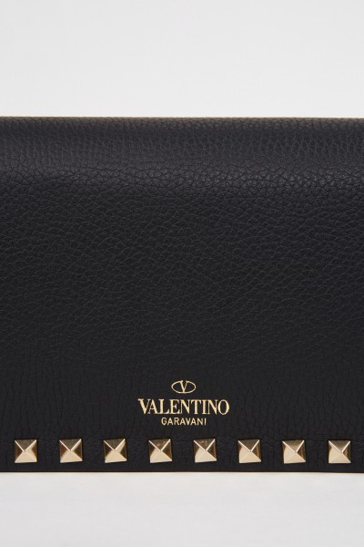 Valentino Shoulder bags with studs Black
