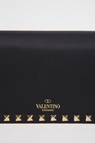 Valentino Umhängetaschen mit Nieten Schwarz