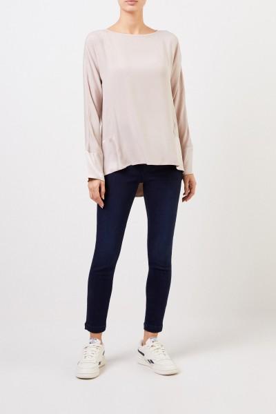 Her Shirt Seiden-Bluse 'Pommery' Champagner