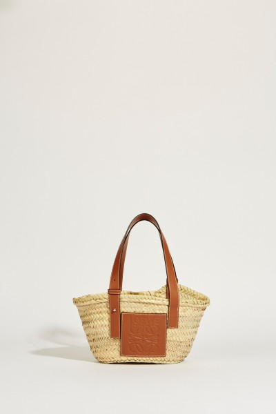 Korb 'Basket Small' Natural/Tan