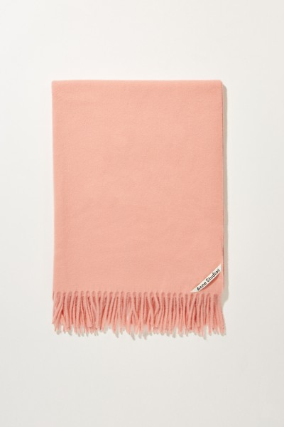 Acne Studios Classic wool scarf 'Canada New' Rose