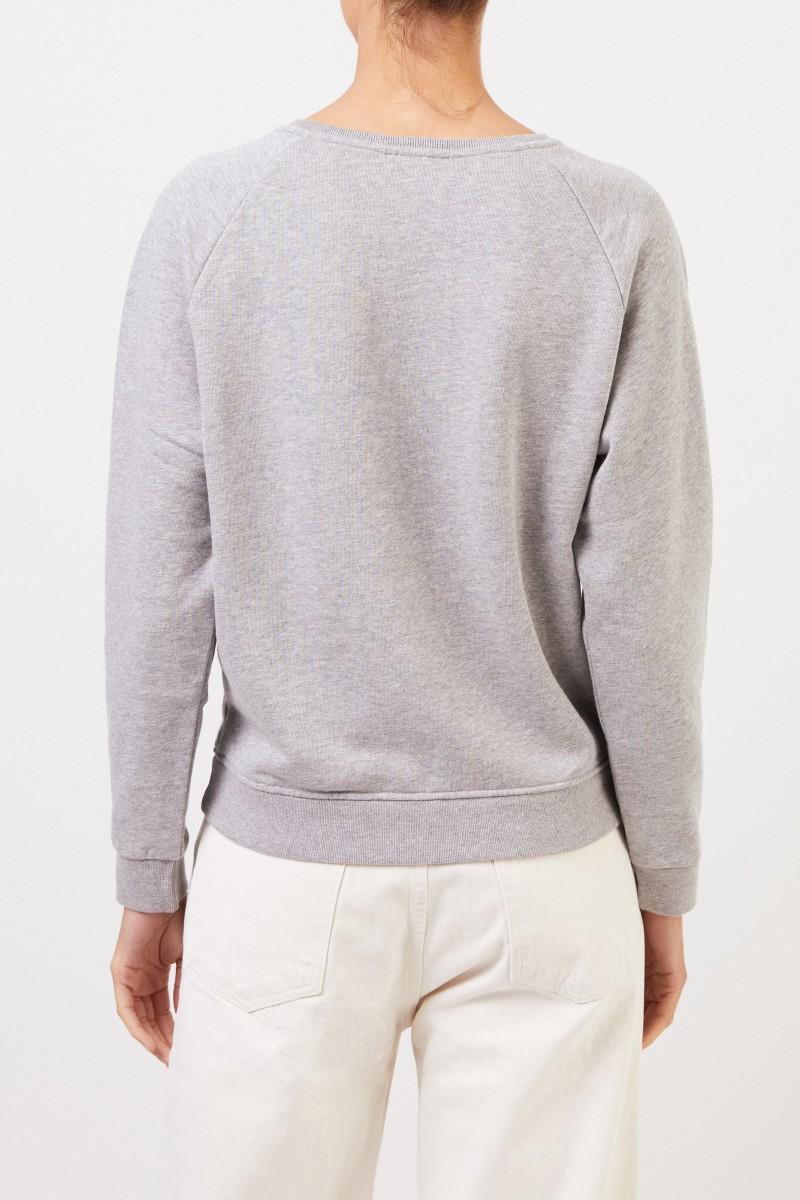 Sweatshirt 'Palais Royal' mit Logo-Schriftzug Grau